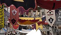 Fiestas y festivales: agenda y actividades, mercado medieval, etc...